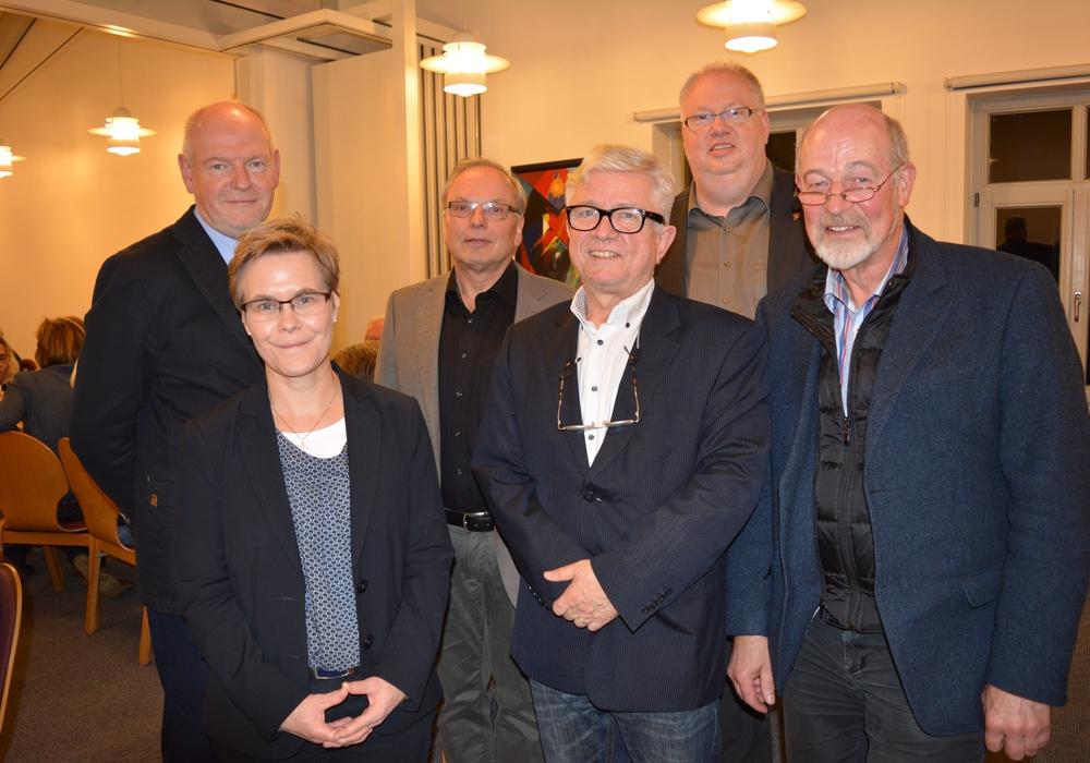 Referenten und Gastgeber des Reformationsgespräches in  Hohenhameln. Foto: Kirchenkreis