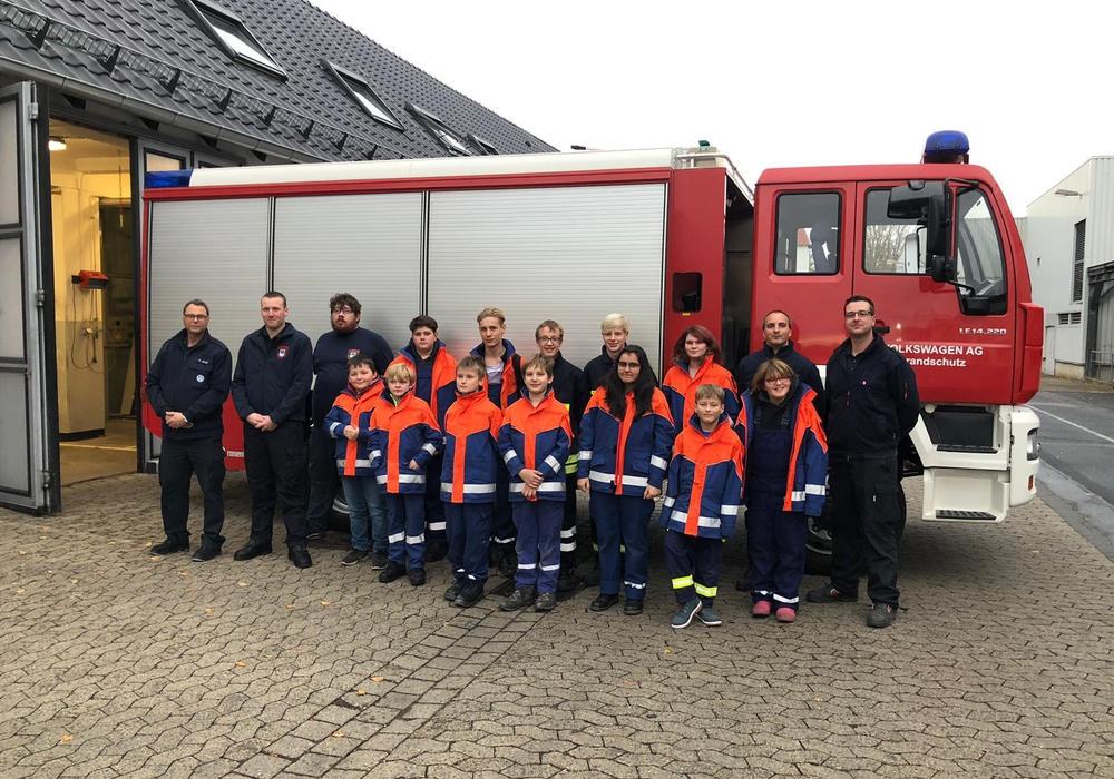 Die Kinder- und Jugendfeuerwehr erlebte ein ereignisreiches Wochenende. Foto: Feuerwehr Königslutter