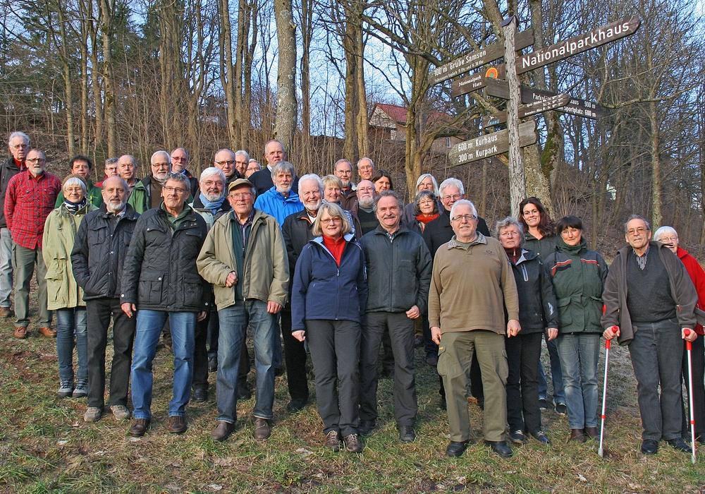 35 Waldführer wurden in Sankt Andreasberg  ausgezeichnet. Foto: Ingrid Nörenberg