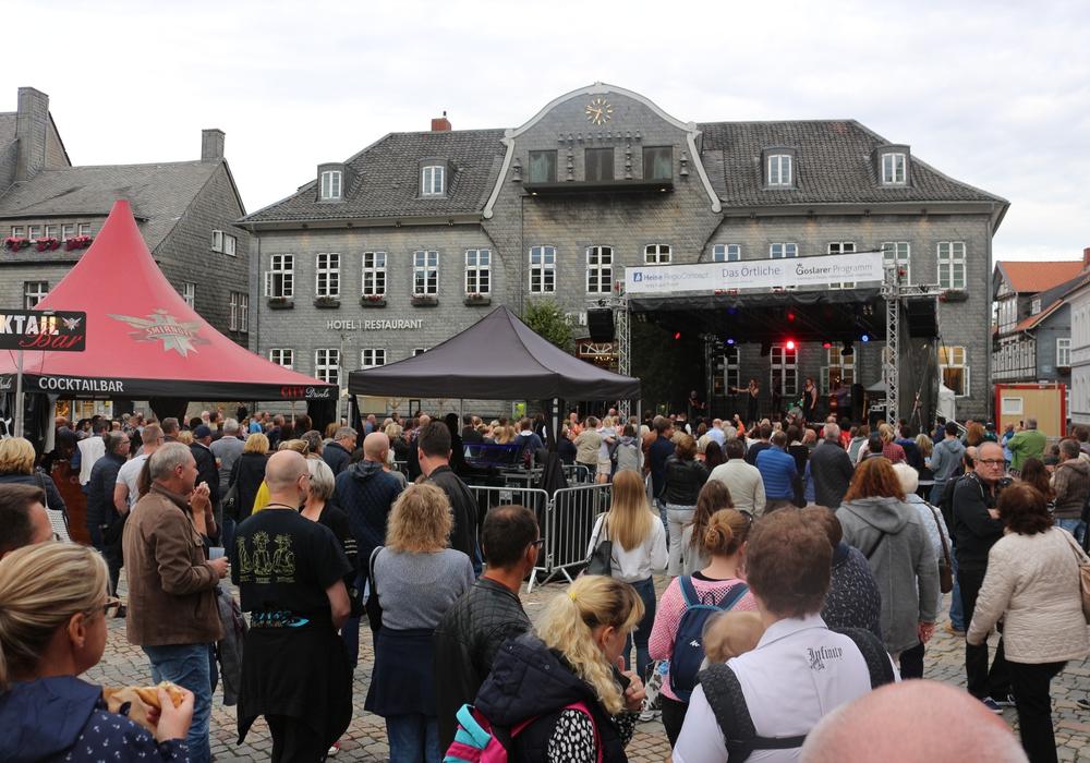 Noch bis Sonntag geht das Altstadtfest in Goslar. Fotos: Anke Donner