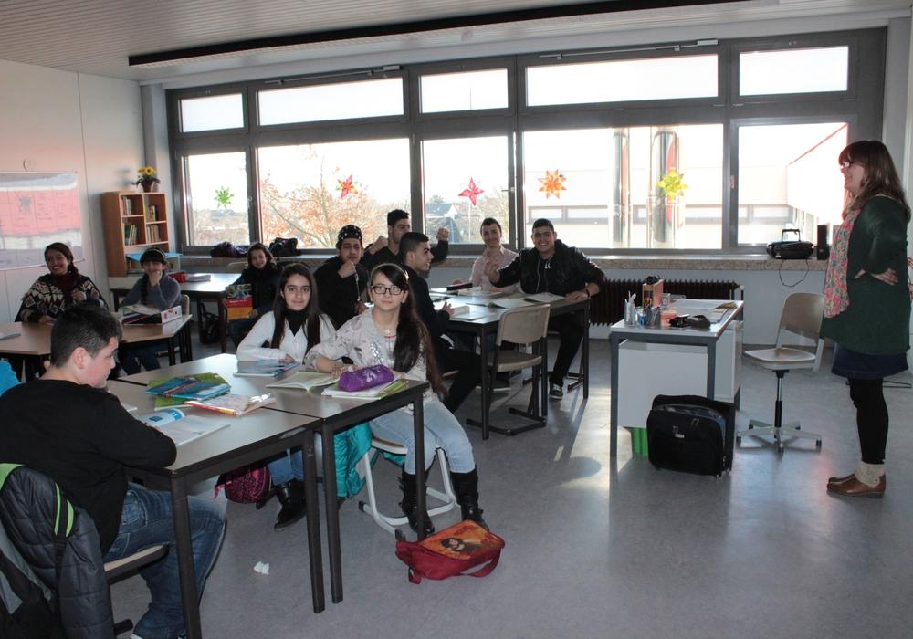 Um die Integrationsarbeit zu verbessern, sehen die Schulen auch noch Handlungsbedarf. Symbolbild. Foto: Anke Donner