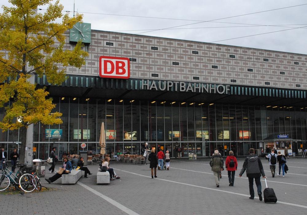 Der Braunschweiger Hauptbahnhof. Foto: Sina Rühland
