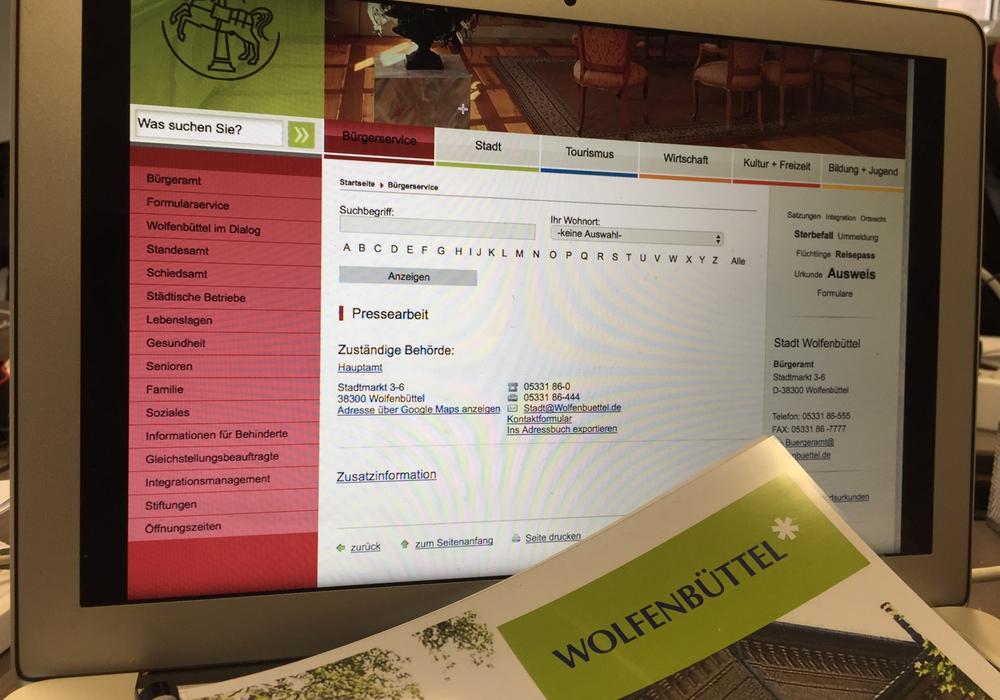 Aus dem Verwaltungsbericht der Stadt Wolfenbüttel geht hervor, dass die Öffentlichkeitsarbeit zugenommen hat. Symbolfoto: Anke Donner