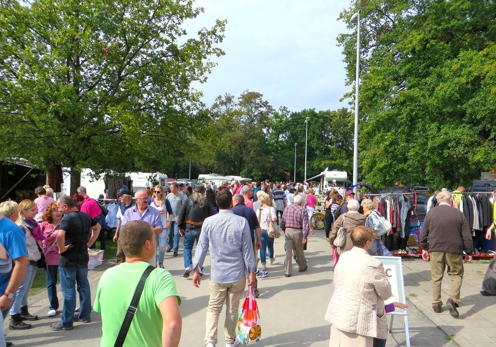 Der Groß-Flohmarkt Harz und Heide kann weiterhin stattfinden. Foto: Trödel 38