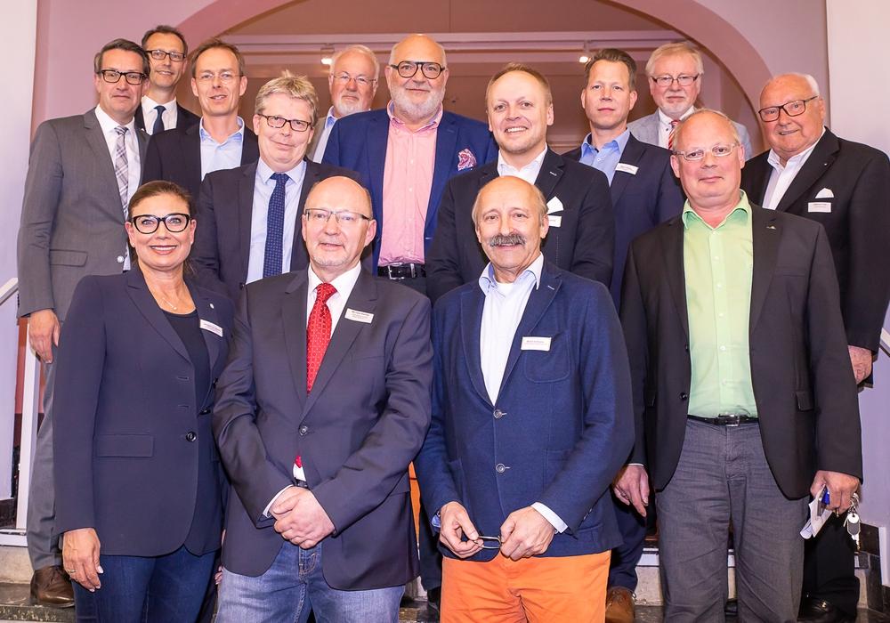 Am ersten AAI-Infoabend in 2018 sprachen die Gastgeber, Referenten sowie der AAI-Vorstand über die Themen Digitalisierung und Weiterentwicklung des Magniviertels. Bildnachweis: Arbeitsausschuss Innenstadt Braunschweig e. V./Philipp Ziebart