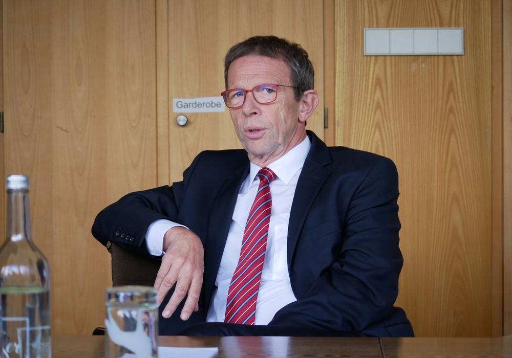 Oberbürgermeister Klaus Mohrs. (Archivbild)