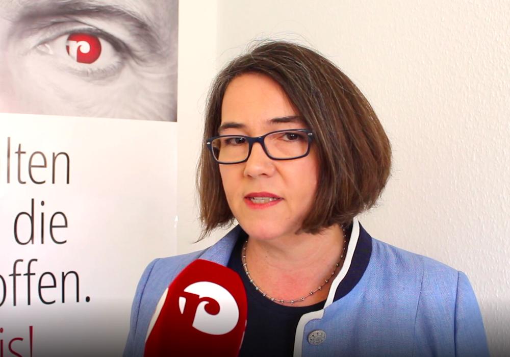 Susanne Schütz. Archivbild