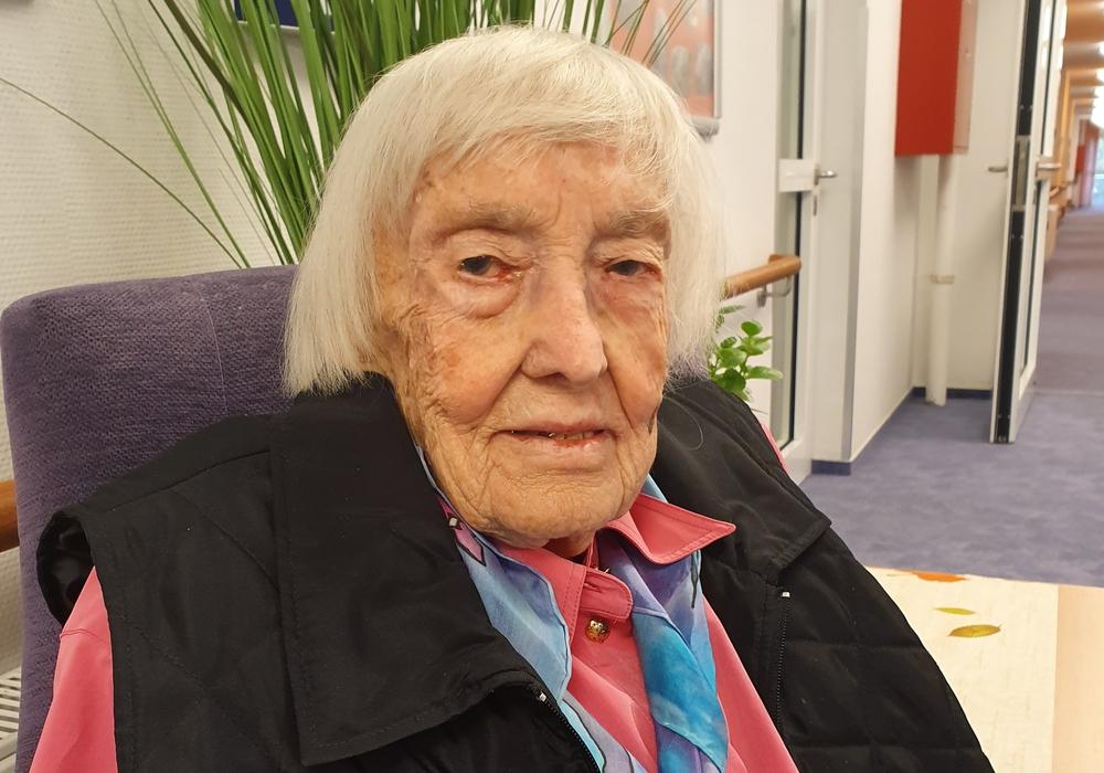 Gertrud Kamleiter feierte vor einer Woche ihren hundertsten Geburtstag.