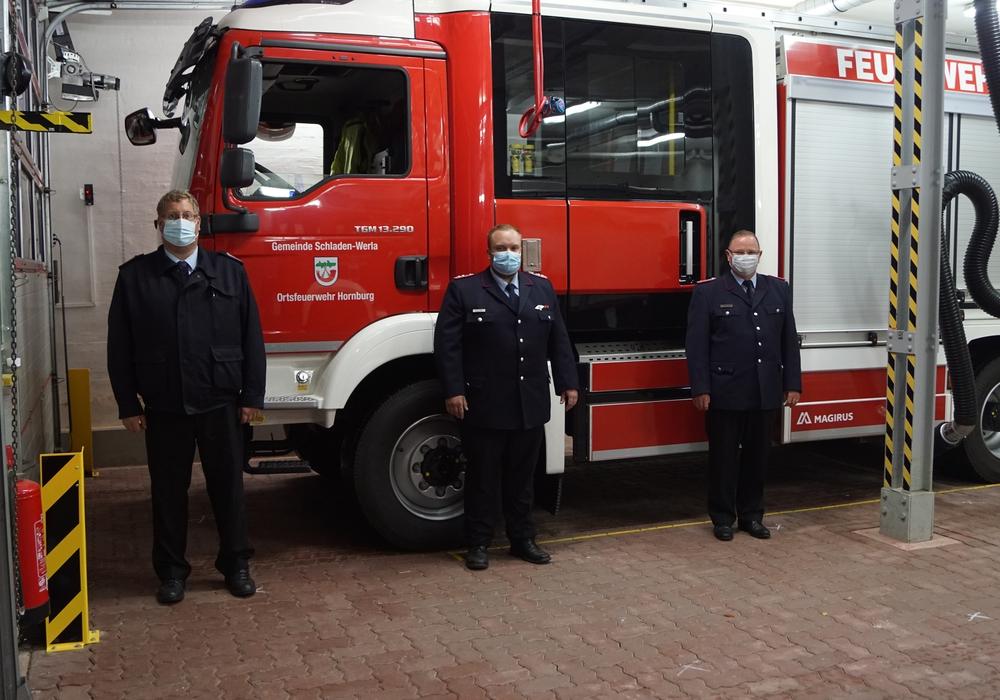 Von links: Peter Bartels, Dennis Meyer und Wolfgang Hesse.