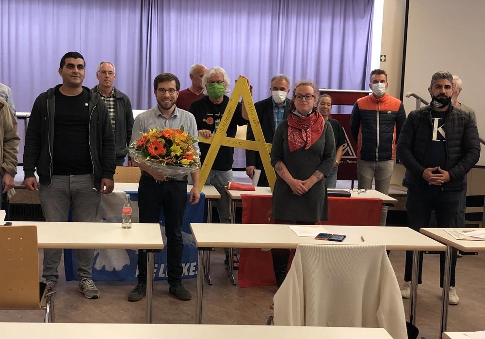 Am Montagabend wurde Victor Perli als Bundestagskandidat für die Linken vorgestellt.