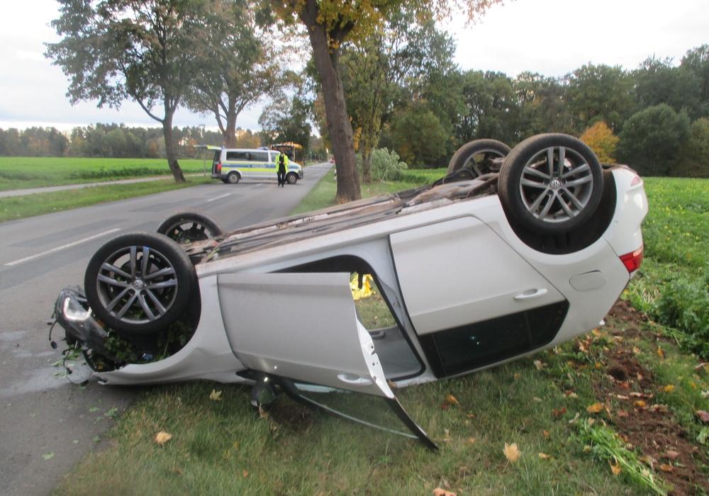 Der Wagen erlitt einen Totalschaden.