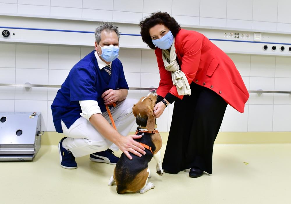 Gesundheitsministerin Dr. Carola Reimann besuchte Modellprojekt der Hochschule Hannover.