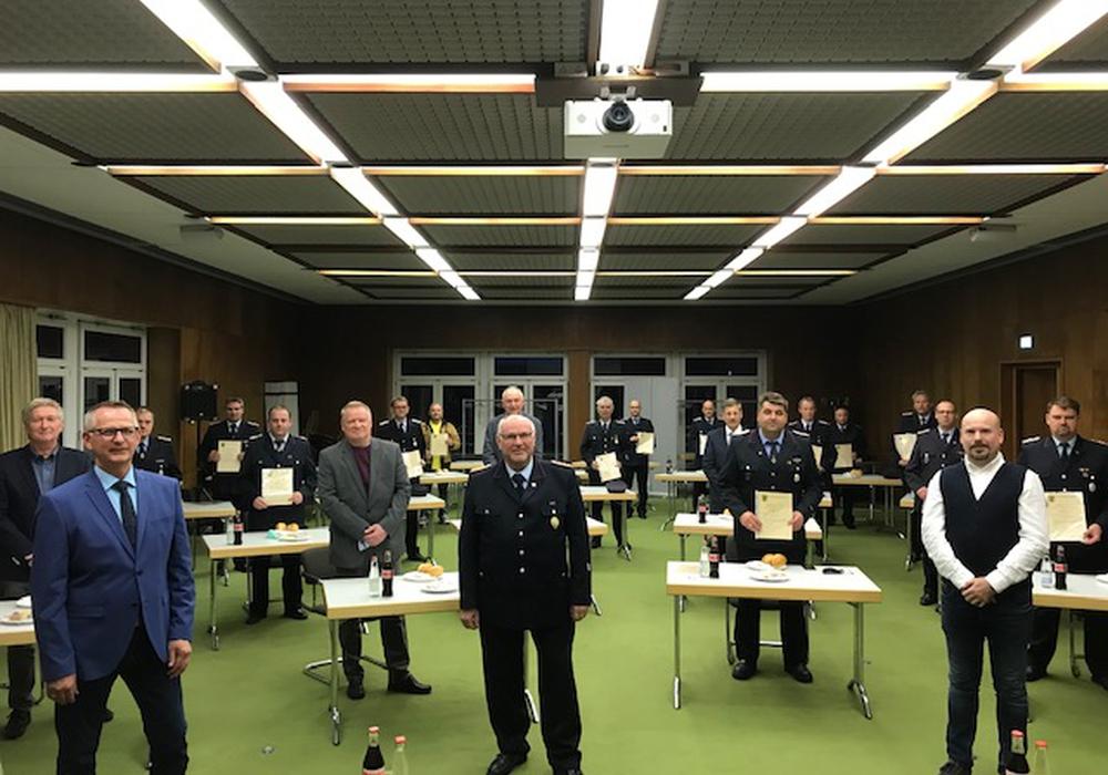 Die Ernennung der Ortsbrandmeister und Stellvertreter fand im Rathaus Schöppenstedt statt.
