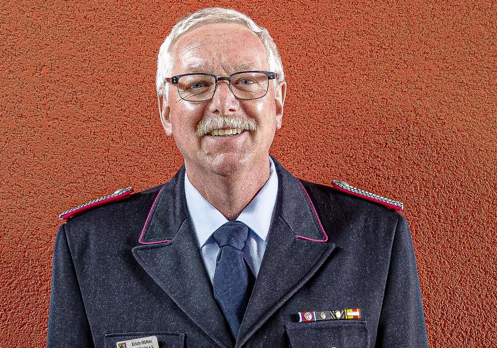 Erich Hütter wurde verabschiedet.