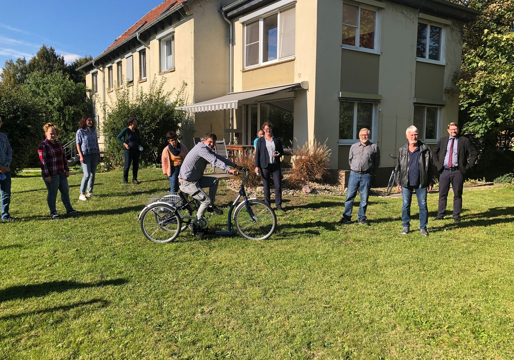 Die Wohngruppe Wabeweg der Neuerkeröder Wohnen und Betreuen GmbH ist in Zukunft noch mobiler.
