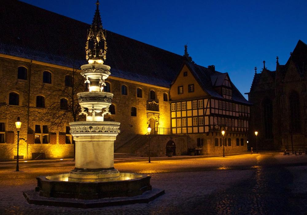 Braunschweig in der Dunkelheit - vor Halloween.