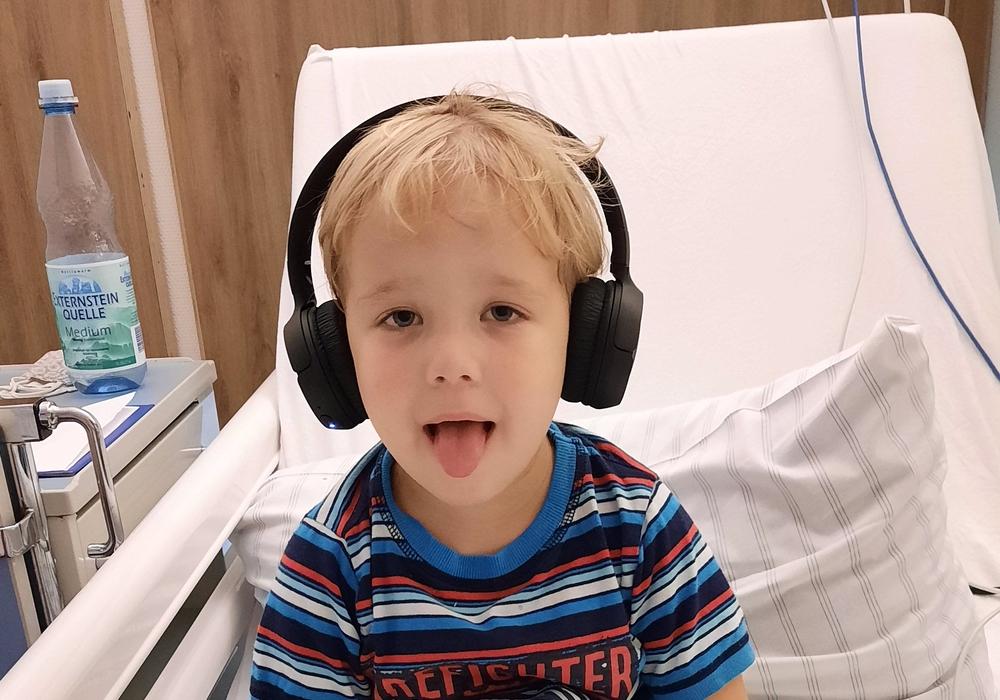 Der dreijährige Benjamin ist an Blutkrebs erkrankt. Nur eine Knochenmarkspende kann ihn retten.