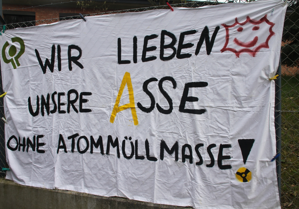 Aktivisten aus Vahlberg kündigen eine neue Demonstration gegen die Pläne am Bergwerk Asse II an.