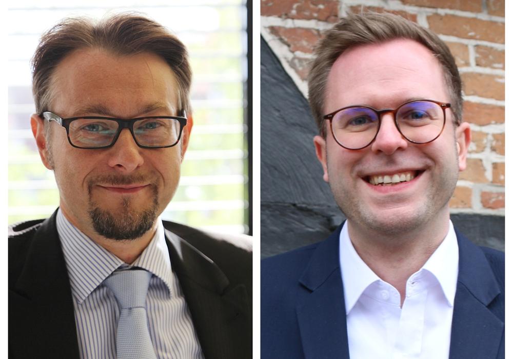 Unterstützt die CDU Ivica Lukanic (li.) oder schickt sie mit Dr. Adrian Haack (re.) einen eigenen Bürgermeisterkandidaten ins Rennen?
