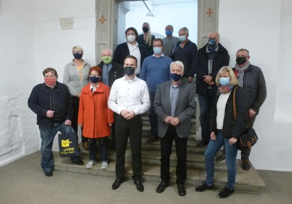 Die Mitglieder der Stadtratsfraktion stimmten einstimmig für den designierten Bürgermeisterkandidaten der SPD Wolfenbüttel.