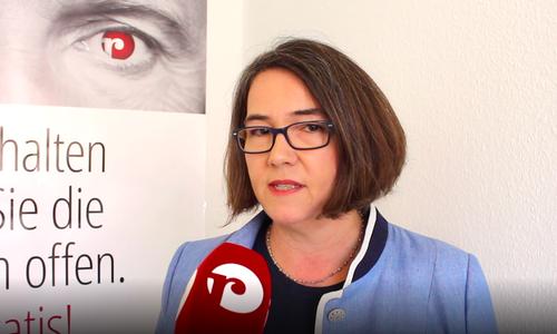 Susanne Schütz zweifelt an der Eignung von Ministerin Reimann. Archivbild