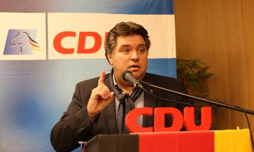 CDU-Landratskandidat Uwe Schäfer.
