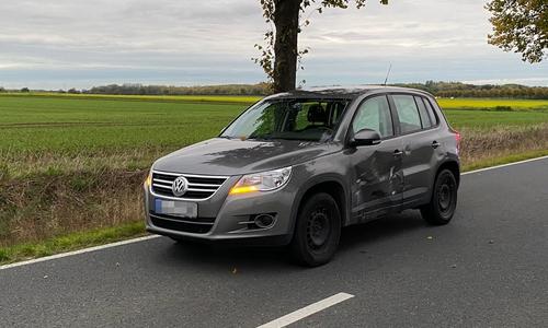Der zweite beteiligte Wagen wurde nur leicht beschädigt.