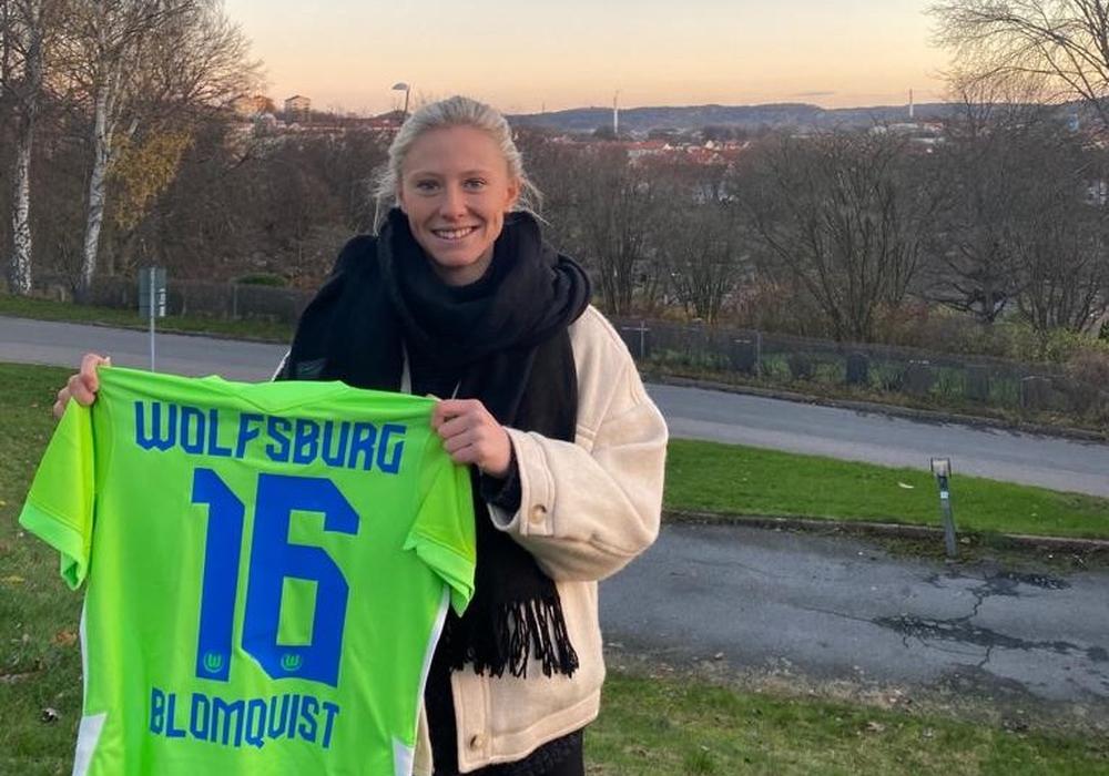 Die schwedische Nationalspielerin Rebecka Blomqvist wechselt zum 1. Dezember an die Aller.