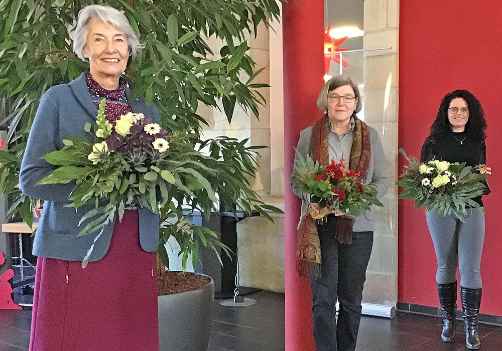 Gabriele Drewes, Sigrid Schaperund Daniela Bergmann-Baczynski.
