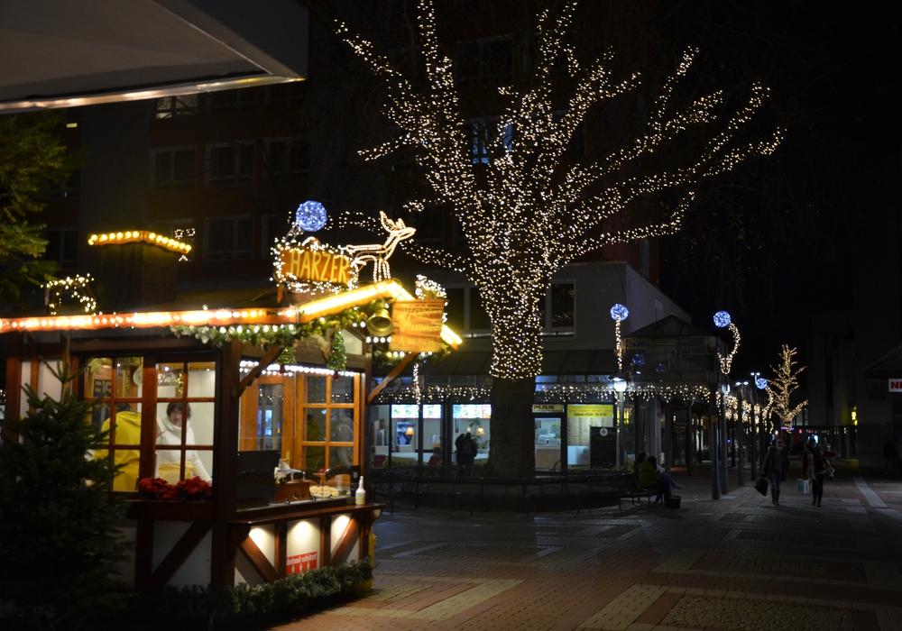 In Lebenstedt soll es trotz Corona weihnachtlich werden. Einige Stände wird es in der Innenstadt geben.