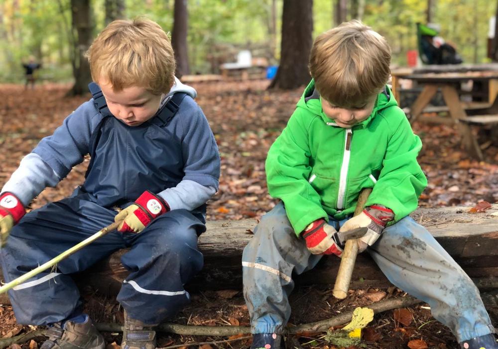 Der Waldkindergarten hat wieder Plätze frei.