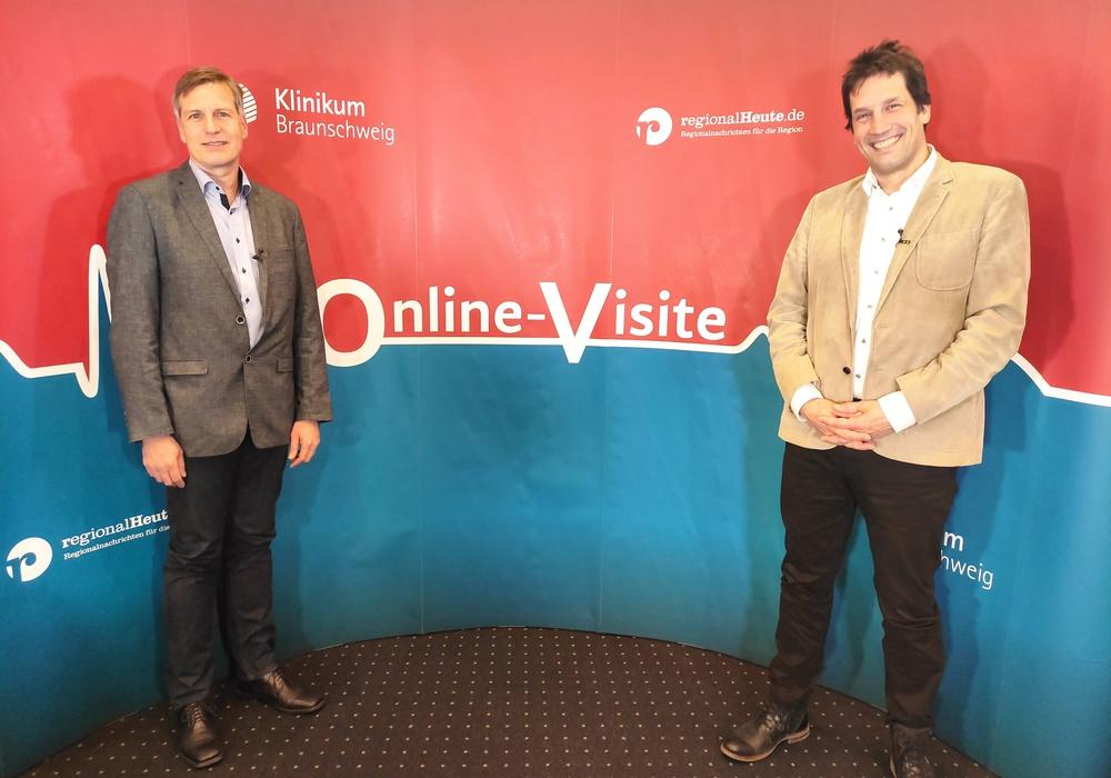 Dr. Clemens Schmidt und Prof. Dr. Andreas Gerstner standen Rede und Antwort.