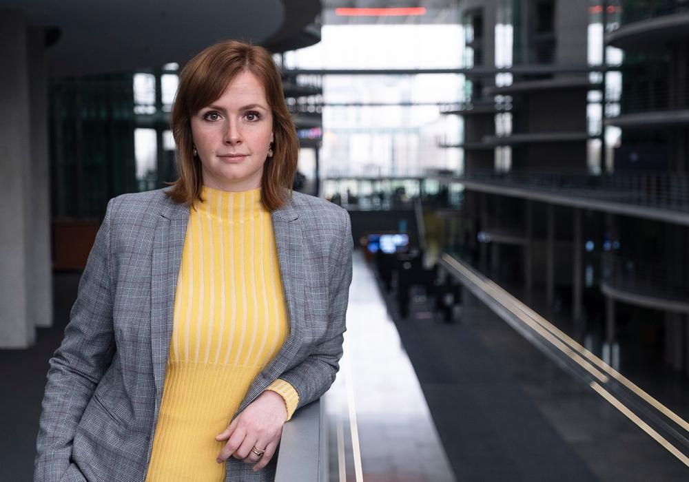 Die FDP-Bundestagsabgeordnete Gyde Jensen.