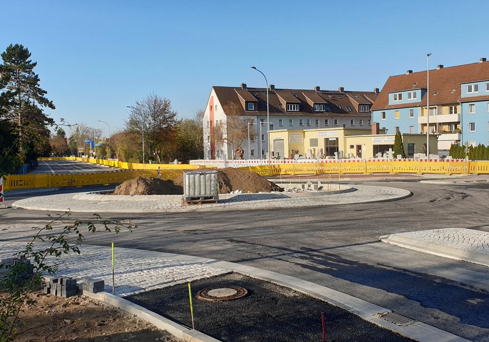 Die Leipziger Straße soll Anfang nächster Woche für den Verkehr freigegeben werden.