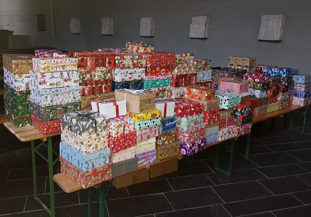 Sieben Pakete mehr als im Vorjahr - Das ist die Bilanz von Weihnachten im Schuhkarton 2020 in Grasleben.