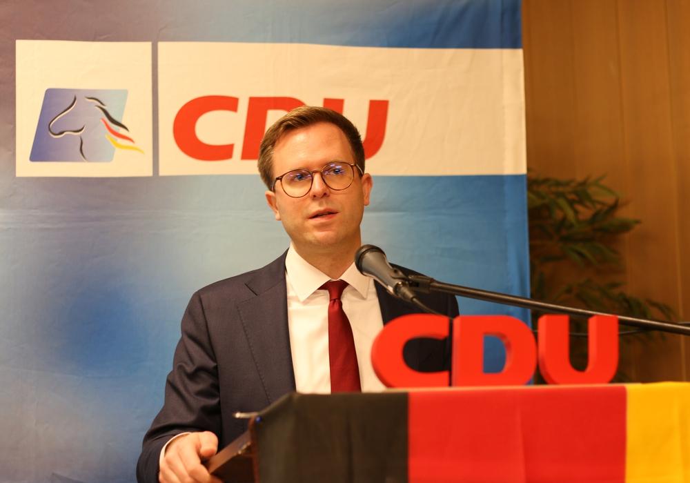 Adrian Haack organisierte den CDU-Bundesparteitag mit.