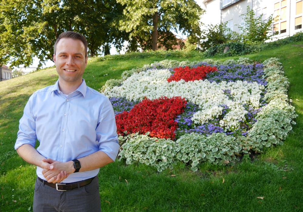Der SPD-Bürgermeisterkandidat Dennis Berger.