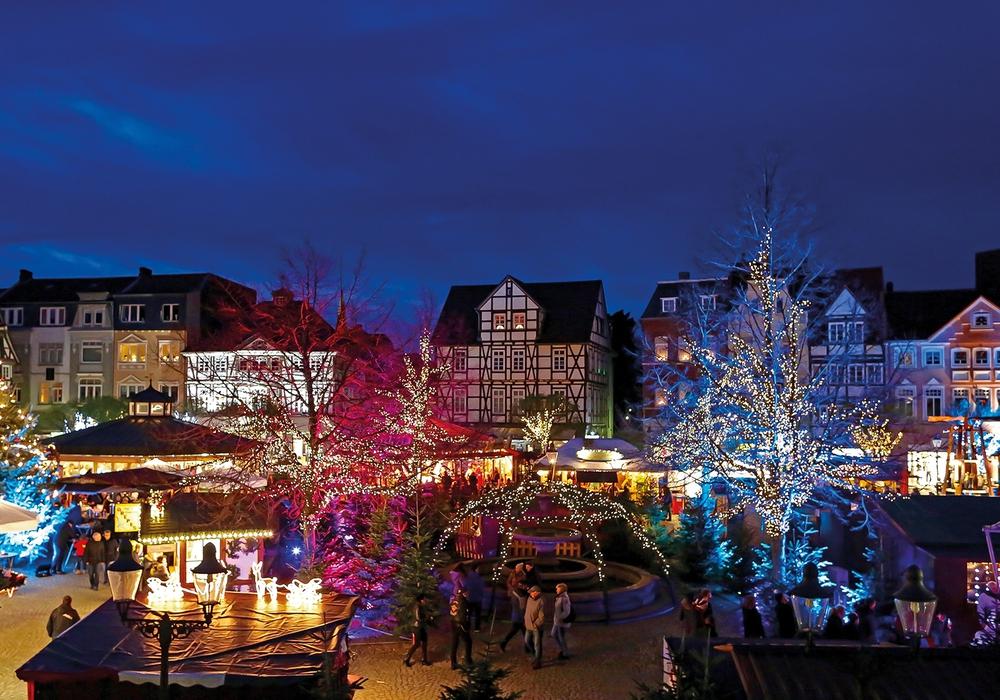 In diesem Jahr nicht wirtschaftlich: Der Peiner Weihnachtsmarkt.