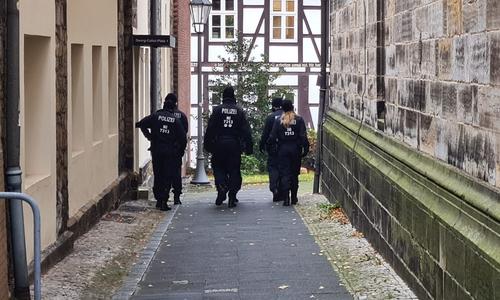 Die Polizei führte am Montag und Dienstag Befragungen durch.