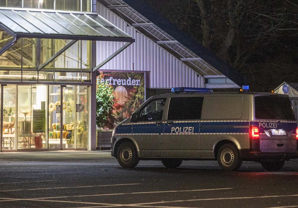Die Polizei konnte die Täter nicht fassen.