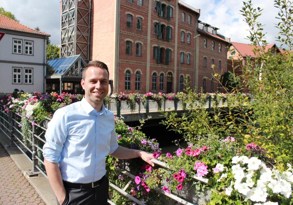Dennis Berger sieht in der Landesgartenschau eine große Chance für Wolfenbüttel.