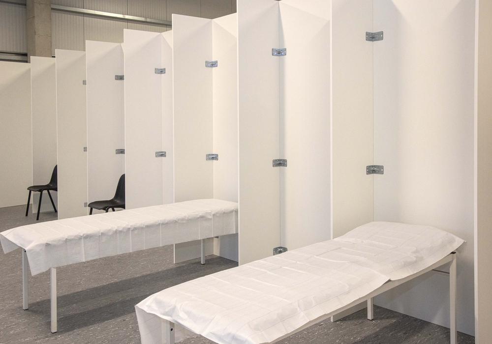 In so manchem Impfzentrum - wie hier in Salzgitter - herrschte vergangene Woche gähnende Leere. Der Grund: Die Impfdosen fehlten. Salzgitteraner wurden beispielsweise nach Goslar und Peine verwiesen. Sehr zum Ärger der dortigen Bürgermeister.
