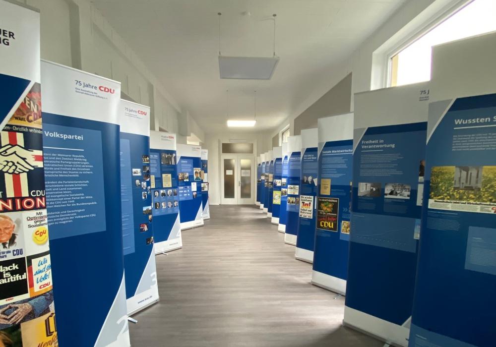 Die Ausstellung der Konrad-Adenauer-Stiftung.