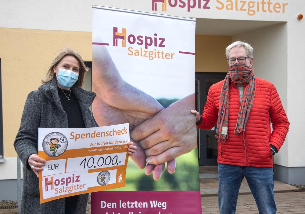 Britta Bötel und Volker Machura