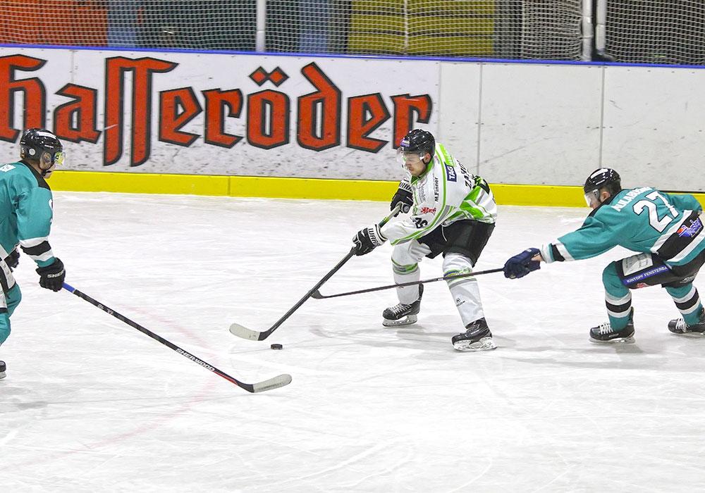 Icefighters-Topscorer Martin Záhora der nun auch Topscorer der gesamten Liga ist.