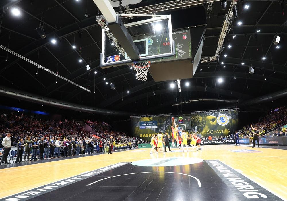 Die Spiele der Basketball Löwen wurden terminiert.