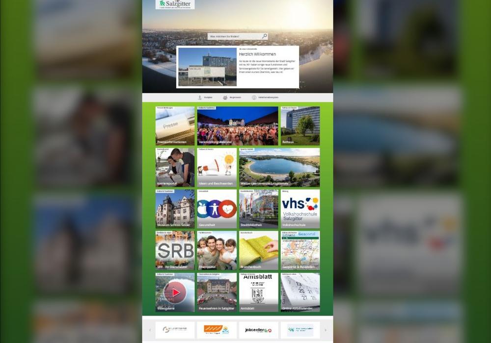 Die neue Website soll auch für Smartphone-Nutzer leicht zu handhaben sein.