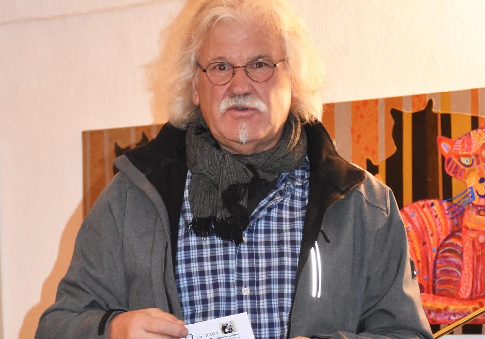 Manfred Kramer war zu Gast im Sozialcafé.