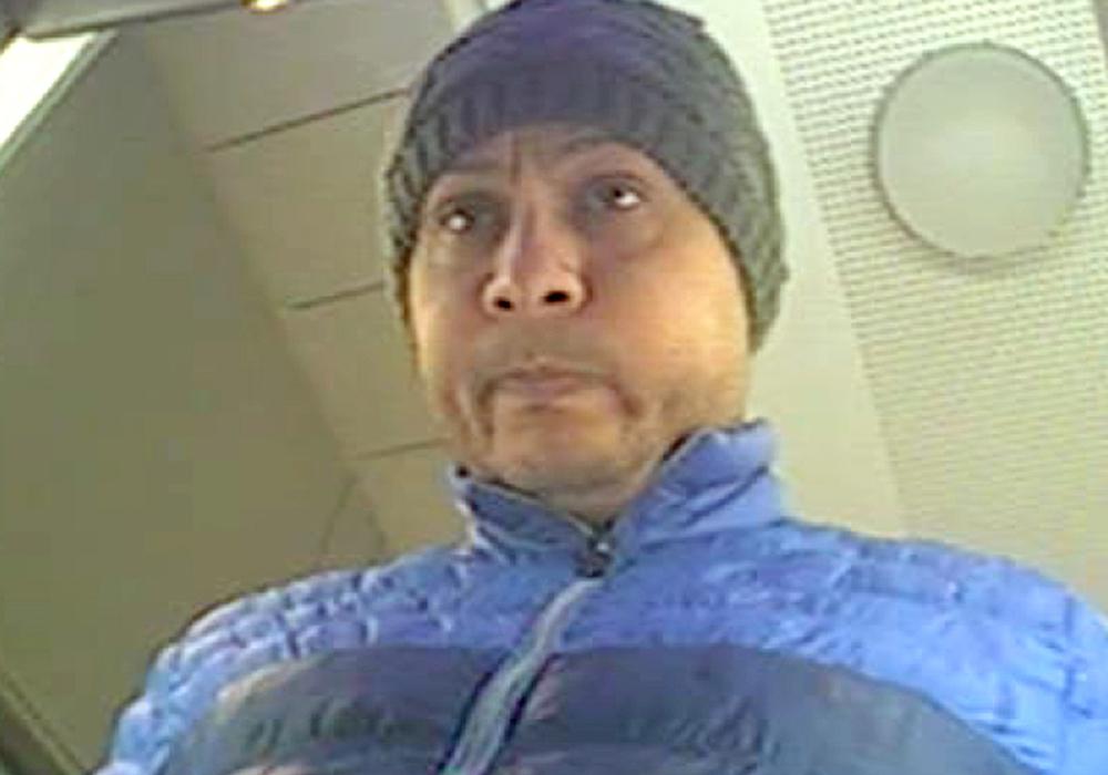 Foto vom möglichen Täter aus einer Wolfsburger Bankfiliale.