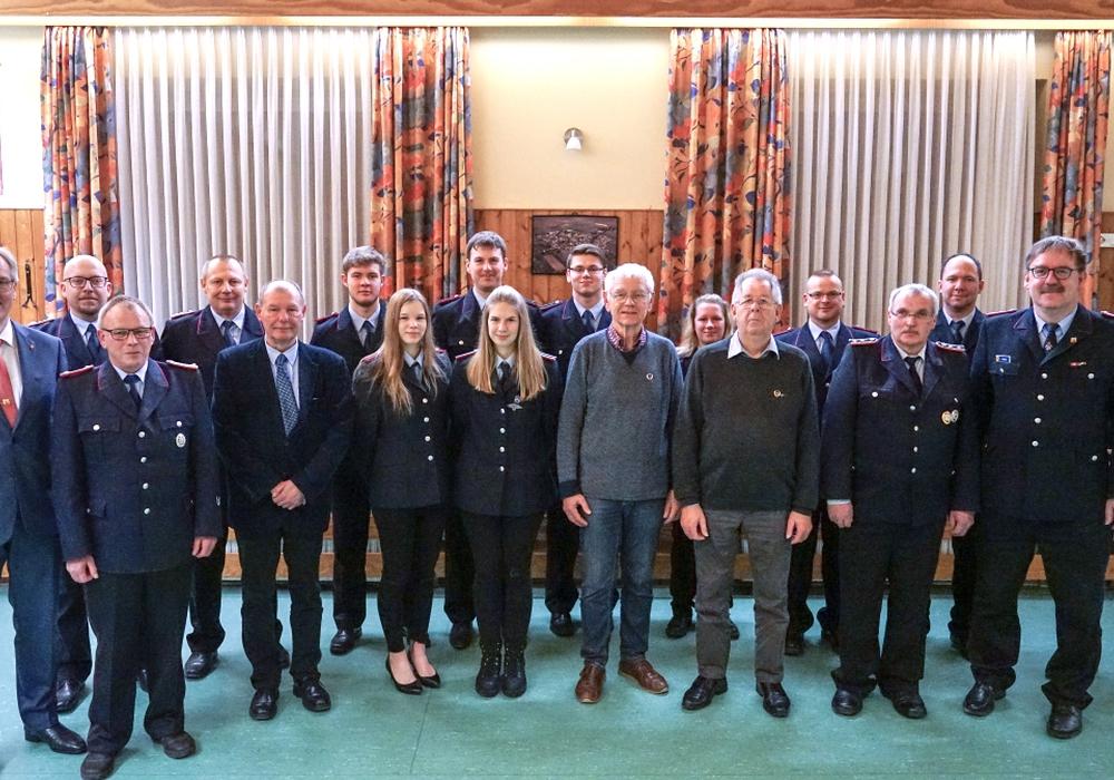Die Feuerwehr konnte auch einige Gäste begrüßen.